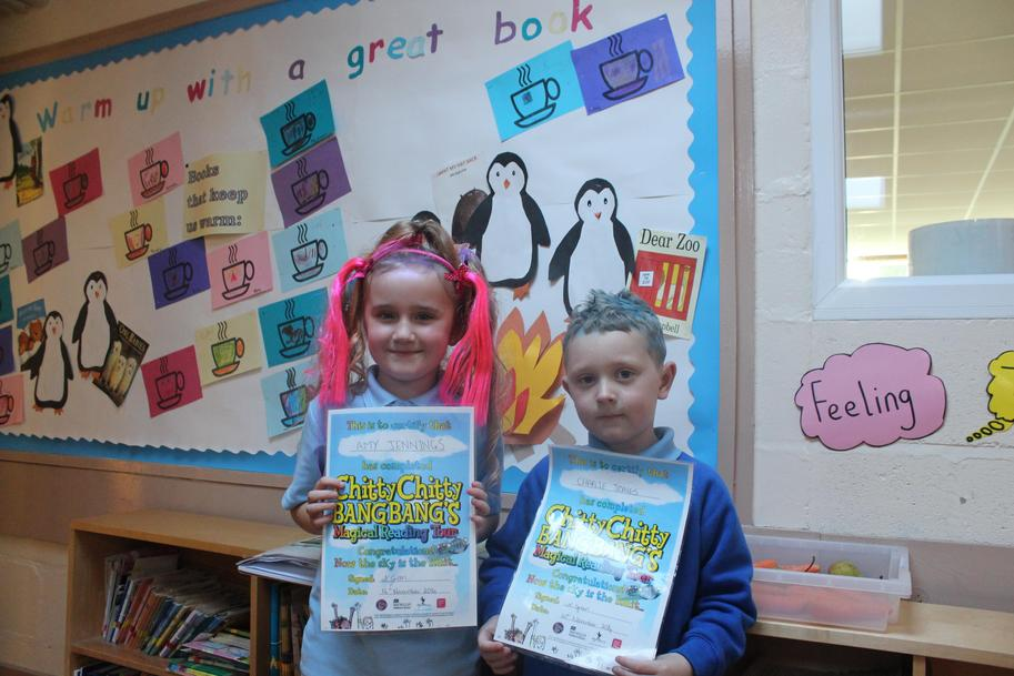 Magical Reading Tour Winners!
