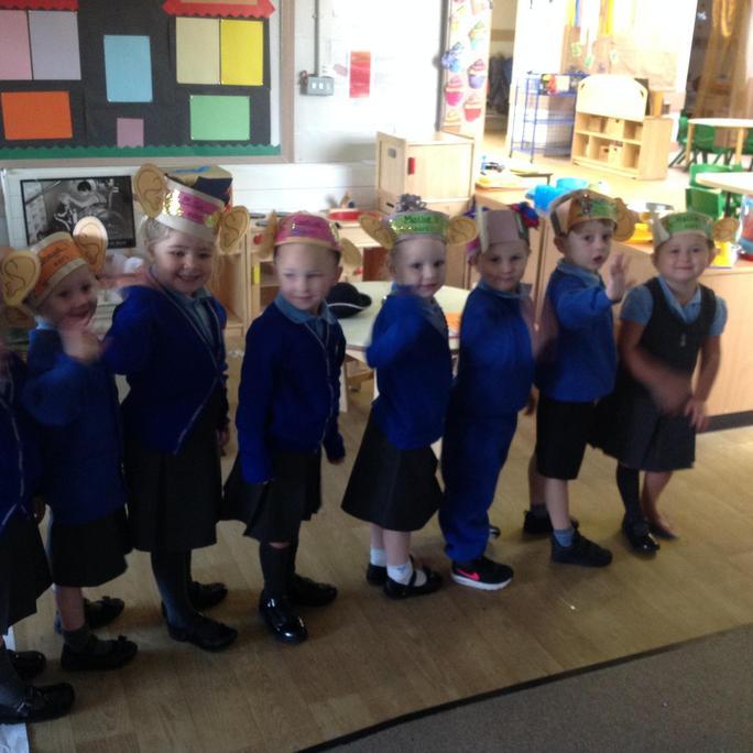 Nursery made special listening ears.