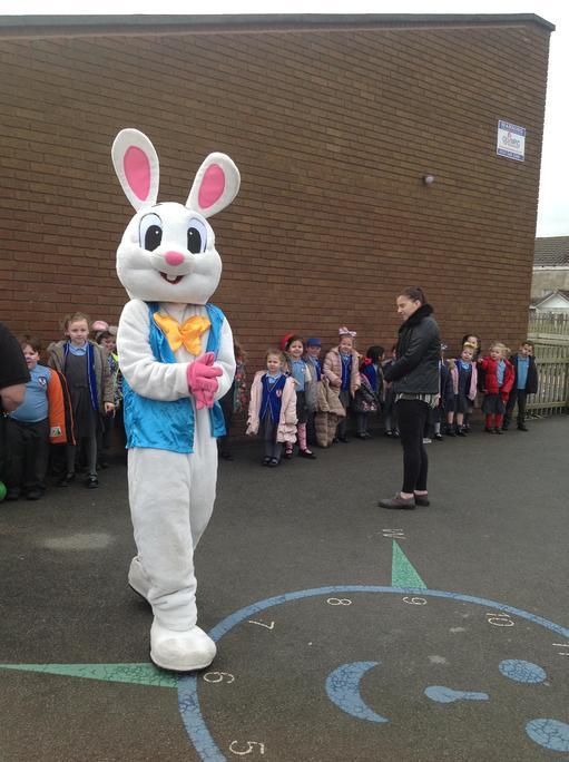Easter bunny gave us an egg!