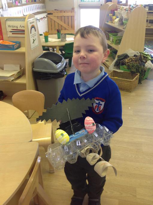 Alfie made a dragon.