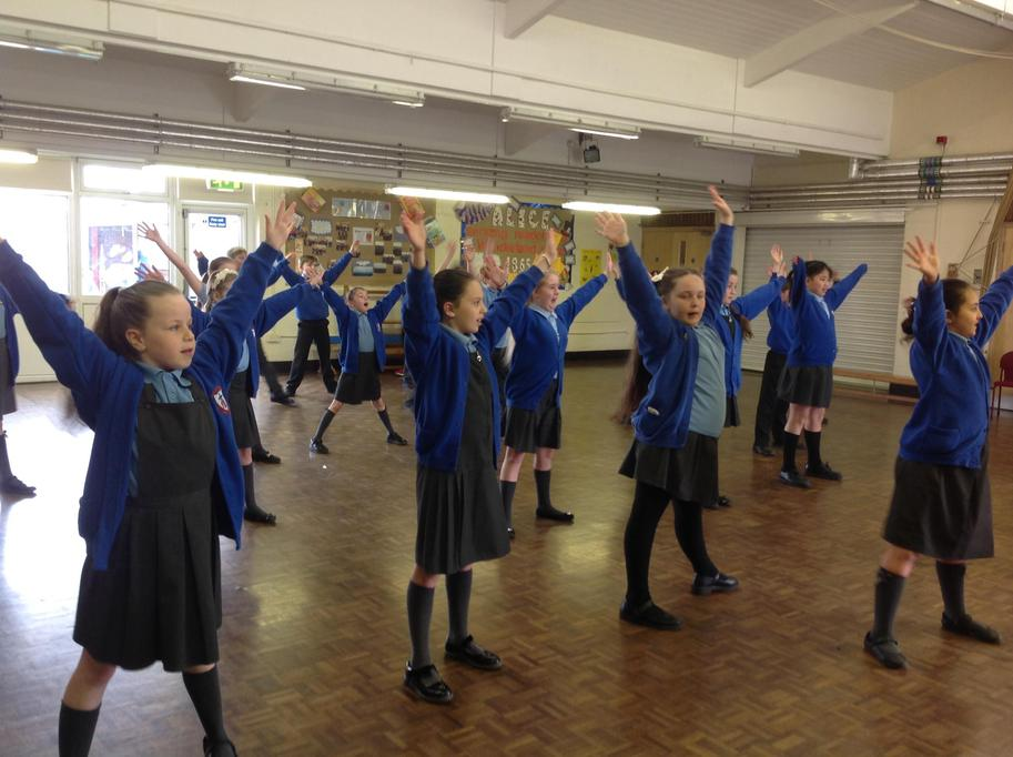Dance workshop Y5