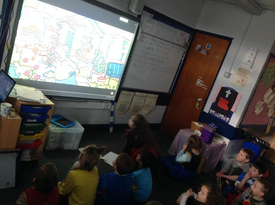 Gingerbread Man Storytelling