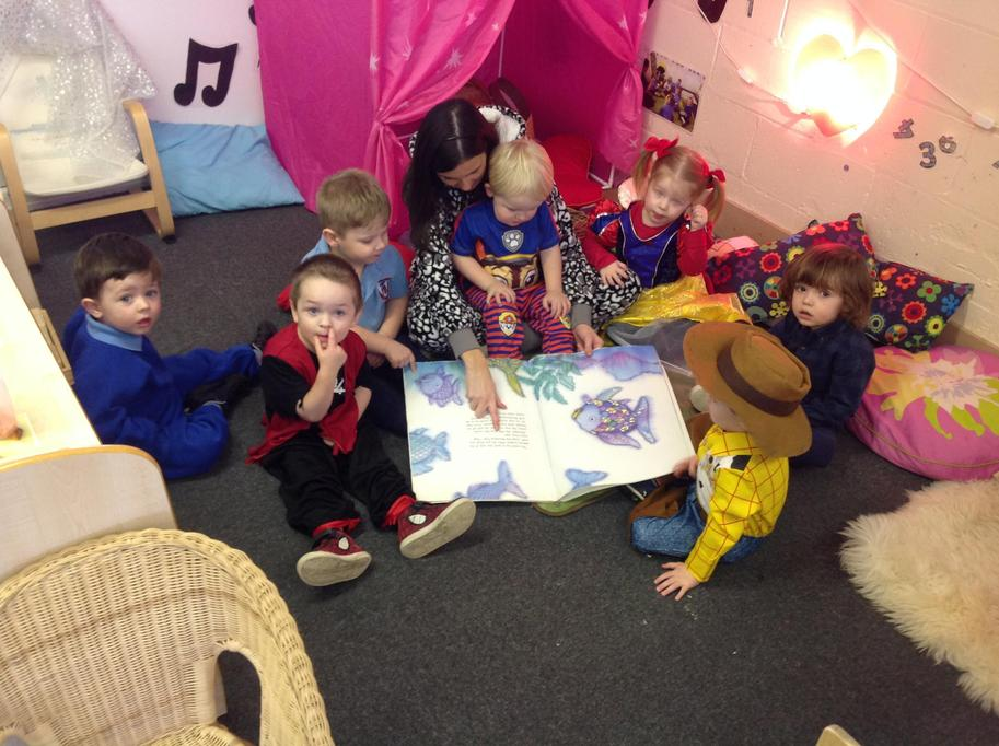 2 year old's enjoying Book Week