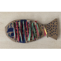 Recycled Cardboard Fish
