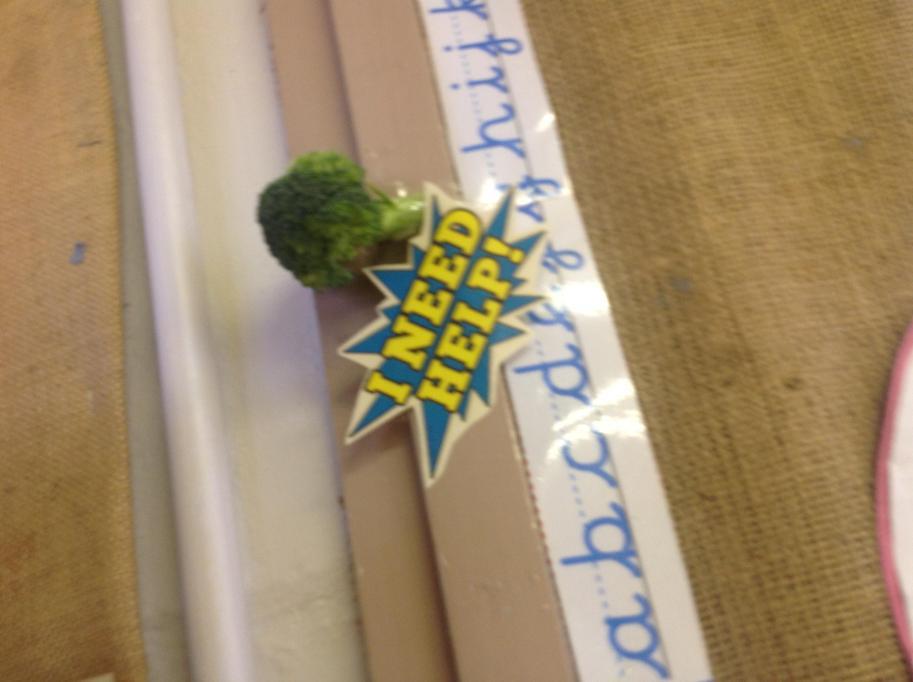 We read 'Supertato'!