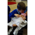 Nursery welcomed a new baby doll.