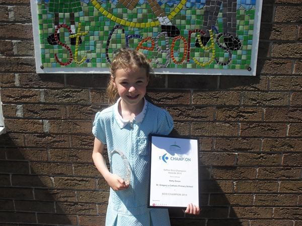 Sefton's Eco Champ Award winner