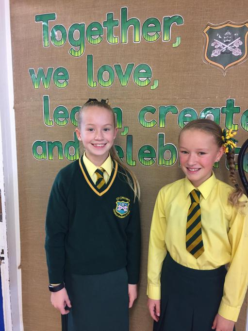 Maddison and Evie - Year 3