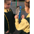 Working Scientifically: Explaining how our periscope works using scientific vocabulary