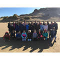 Year 6 on the beach!