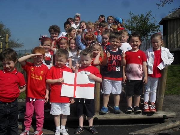 Celebrating St. George's Day and British values