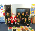 Father Christmas visits Year 2!