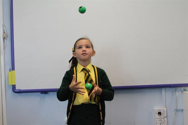 Juggling Homework