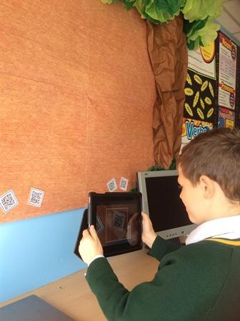 Using QR Codes to discover the tales of Robin Hood