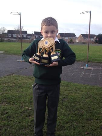 Celebrating out of school sporting success