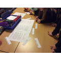 Sorting & analysing writing objectives in English