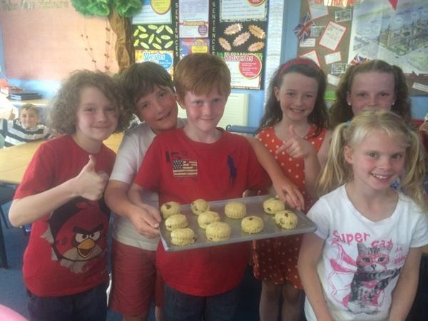 St George's Day - Baking Scones!