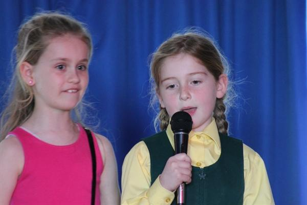 The Easter Talent Show
