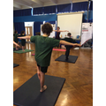 Exploring Yoga with Miss Brown in Hinduism Week