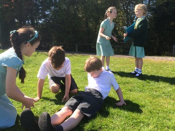 Using drama to develop character and plot!
