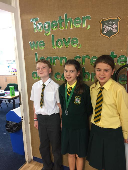 Thomas, Isabelle, Faye - Year 1