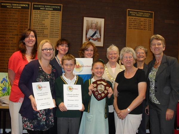 Winners of Maghull in bloom garden competition