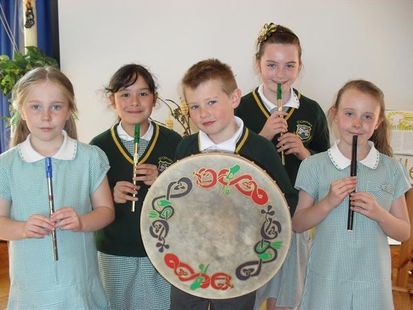 Our talented 'tin whistlers'!