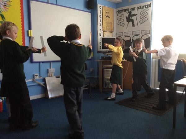 Robin Hood literacy!