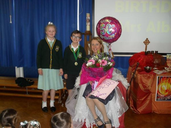 Happy Birthday, Mrs Albon!