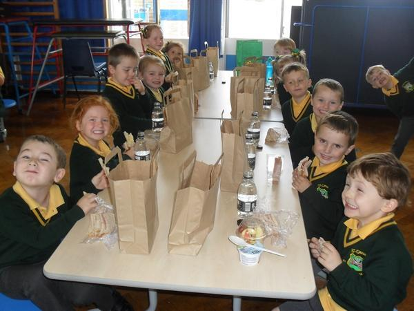 Lunchtime at school