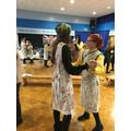 Wartime dancing!