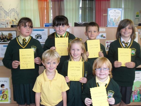Gold medal winners!