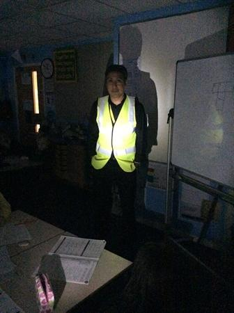 Be safe and be seen this winter! Take care Y4!