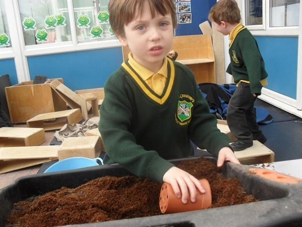 Planting our seeds...