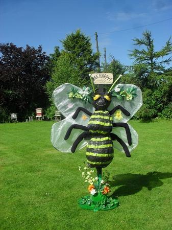 Gardening Club's Scarecrow entry