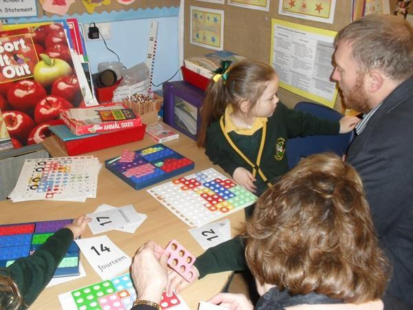 Come and Count session with parents/grandparents