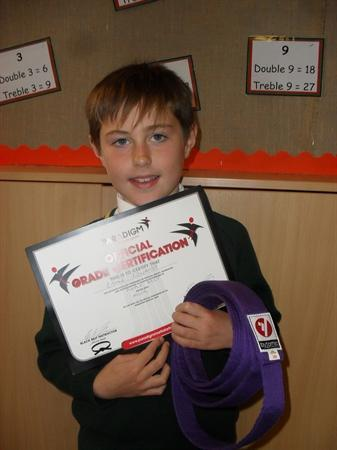 Purple belt success!
