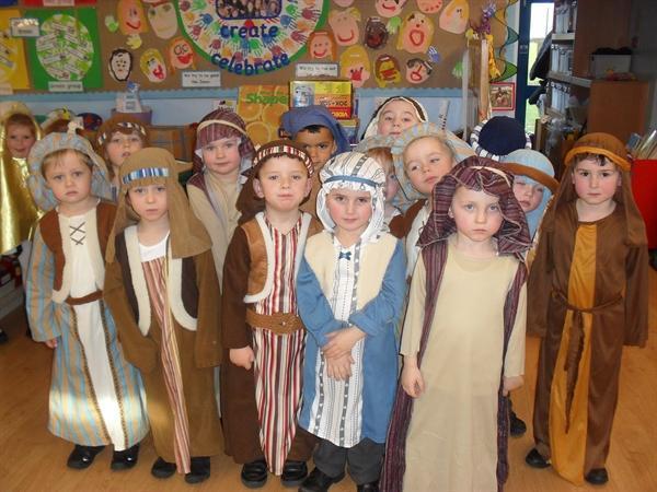 Infant Nativity play 2014