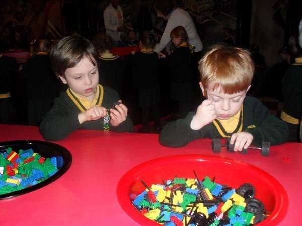Having fun at Legoland