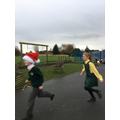 Santa Dash for Nugent Care (Liverpool) and CAFOD