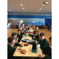 Back dining together at lunchtimes!