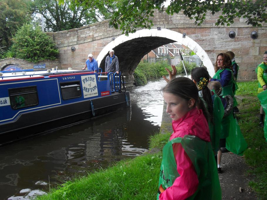 Canal Clean Up September 2015