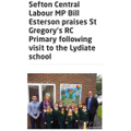 Local MP visits St. Gregory's!
