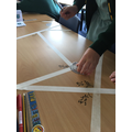 Measuring angles and reasoning.
