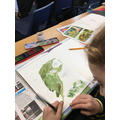 Studying and recreating Pre-Raphaelite artwork