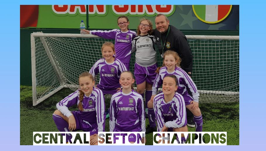 Sefton Champions second year running!