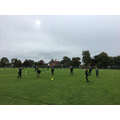 Developing football skills in PE