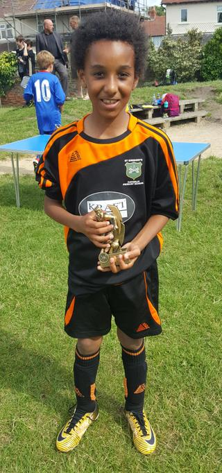 Player of the tournament Leo!