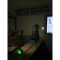 Science: Investigating how distance between object and light source affects shadow size