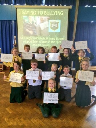 St Gregory's supports the fight against bullying!